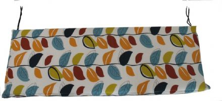 Culcita Bench Cushion 5cm Valance Autumn Leaf - 3 Seater